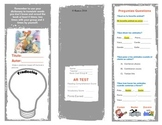 """Quiquiriqui"" Spanish reading Comprehension Trifold"