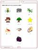 Spanish Booklet for K - 2 / Cuadernillo de actividades para K - 2