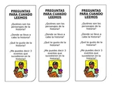 Spanish Bookmarks