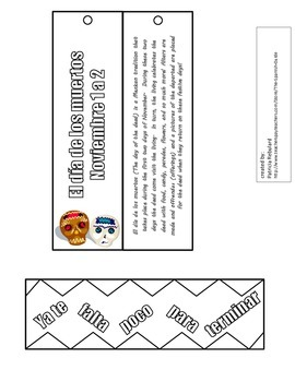Spanish Bookmarks 2