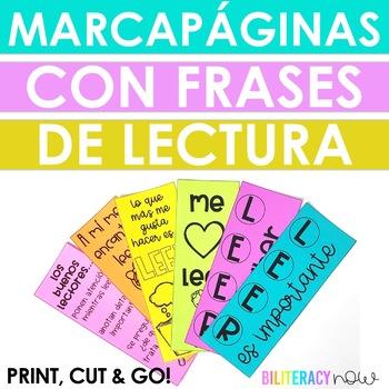Spanish Bookmarks - 8 Different Designs!