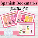 Spanish Bookmarks Back to School Bundle