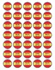 Spanish Books Library Stickers for Media Centers - 3 styles of stickers