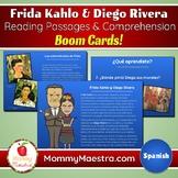 Spanish Boom Cards: Frida Kahlo & Diego Rivera Reading Com