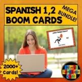 Spanish Boom Cards, Spanish 1, 2 Digital Flashcards, Boom
