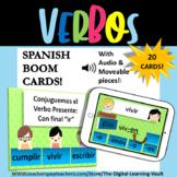 Verbos Boom Deck in Spanish
