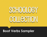 Spanish Boot Verb Schoology Collection Sampler