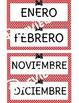 Spanish Bow Themed Birthday Bulletin Board - Cumpleaños