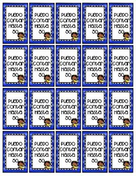 Spanish Brag Tag Counting