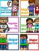 """Spanish Brag tags - Etiquetas de logros """"El más"""" Classroom management"""