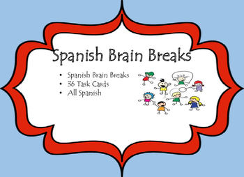 Spanish Brain Breaks