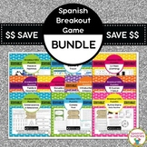 Spanish Breakout EDU Bundle