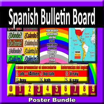 Spanish Bulletin Board Starter Set Bundle
