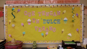 Spanish Bulletin Board summer time