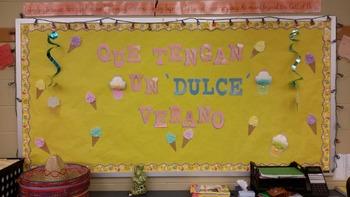 Spanish Bulletin Board summer time
