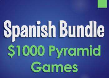 Spanish Bundle:  $1000 Pyramid Games