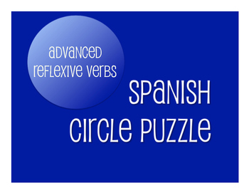 Spanish Bundle: Advanced Reflexive Verbs