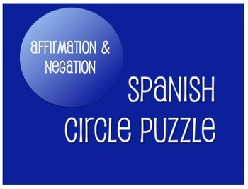 Spanish Bundle: Affirmation and Negation