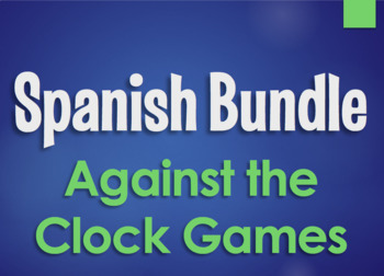 Spanish Bundle:  Against the Clock Games