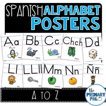 Spanish Bundle: Alphabet and Number Posters