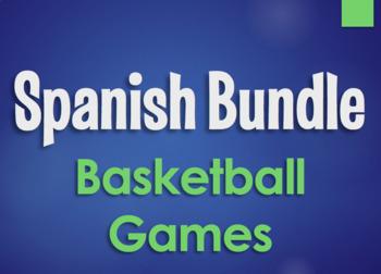 Spanish Bundle:  Basketball Review Games
