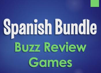 Spanish Bundle:  Buzz Review Games