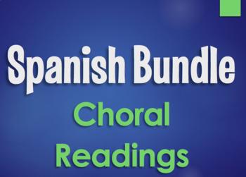 Spanish Bundle:  Choral Readings