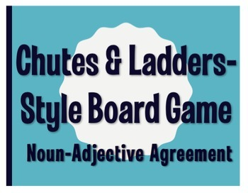 Spanish Bundle:  Chutes and Ladders-Style Games