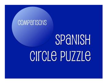 Spanish Bundle:  Comparisons