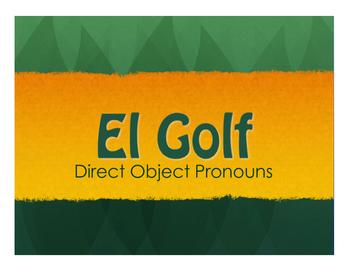 Spanish Bundle:  Direct Object Pronouns