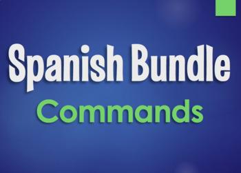 Spanish Bundle:  Formal and Informal Commands