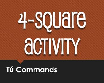 Spanish Bundle:  Four Square Activities