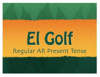 Spanish Bundle:  Golf Review Games