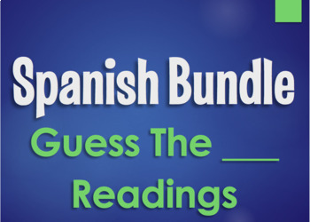 Spanish Bundle: Guess the Readings