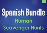 Spanish Bundle:  Human Scavenger Hunts