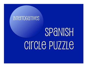 Spanish Bundle:  Interrogatives