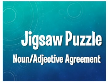 Spanish Bundle:  Jigsaw Puzzles