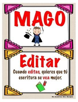 Spanish Bundle: Mago y Aros (arms and cups)/ PIES:Cómo esc
