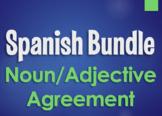 Spanish Noun Adjective Agreement Bundle