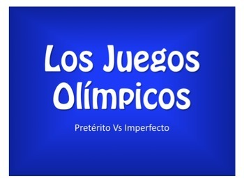 Spanish Bundle:  Olympic Review Games