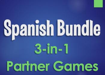 Spanish Bundle:  Partner Games