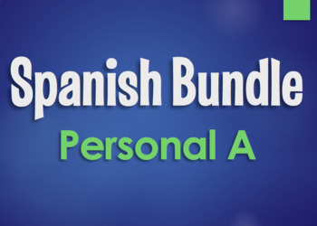 Spanish Bundle:  Personal A