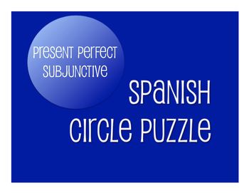 Spanish Bundle:  Present Perfect Subjunctive Tense