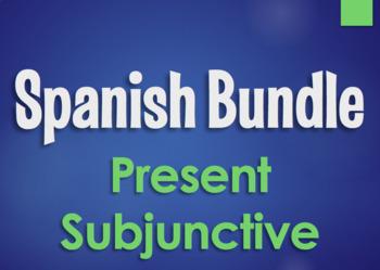 Spanish Bundle:  Present Subjunctive