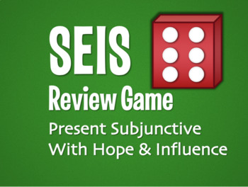 Spanish Bundle:  Present Subjunctive With Hope and Influence