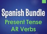 Spanish Bundle:  Present Tense Regular AR Verbs