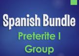 Spanish Bundle:  Preterite Tense I Group Verbs