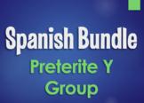 Spanish Bundle:  Preterite Tense Y Group Verbs