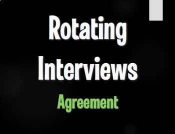 Spanish Bundle:  Rotating Interviews