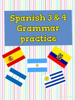 Spanish Bundle: Ser y estar (all materials in Spanish)